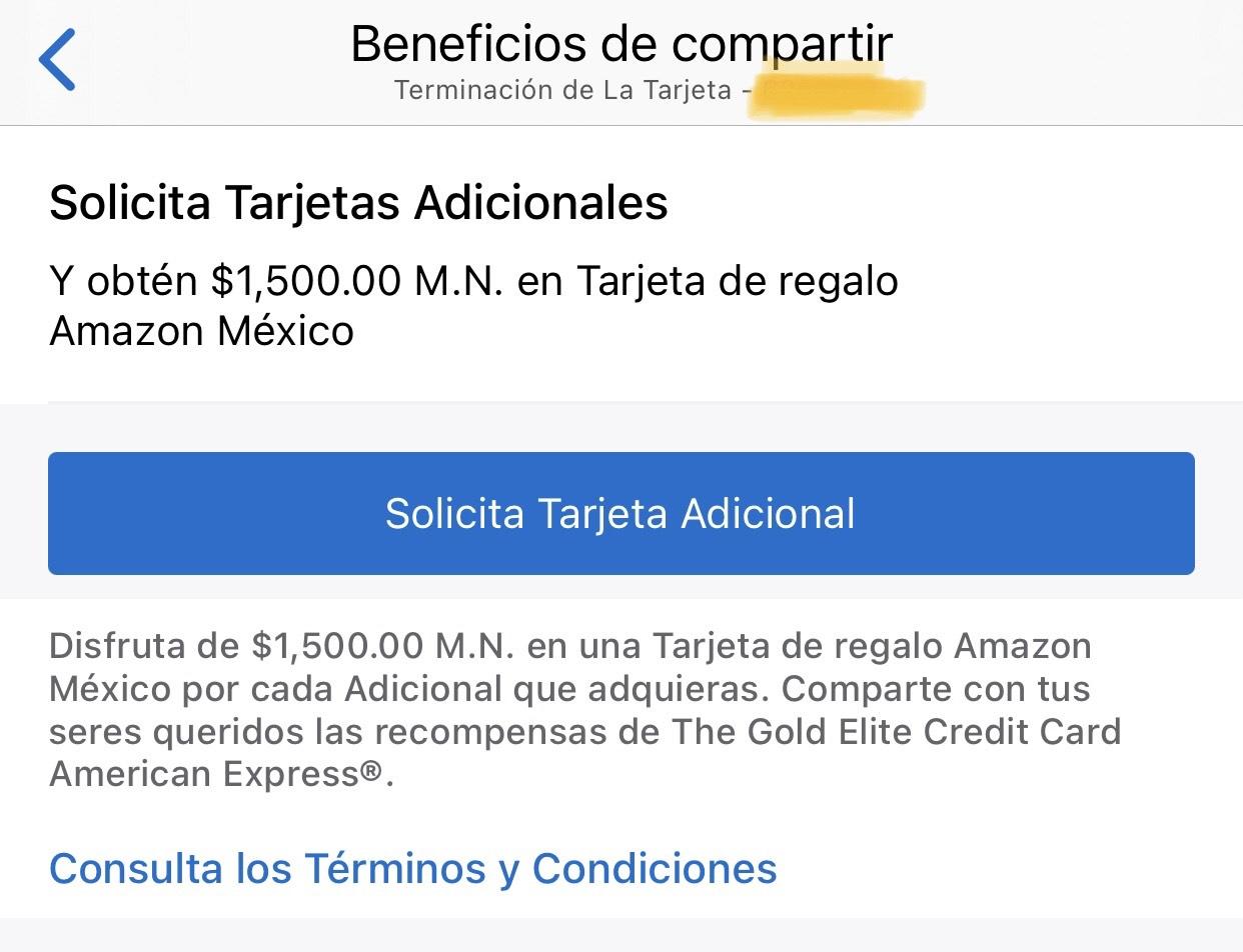 AMEX: $1,500 en tarjeta de regalo Amazon por TDC adicional aprobada
