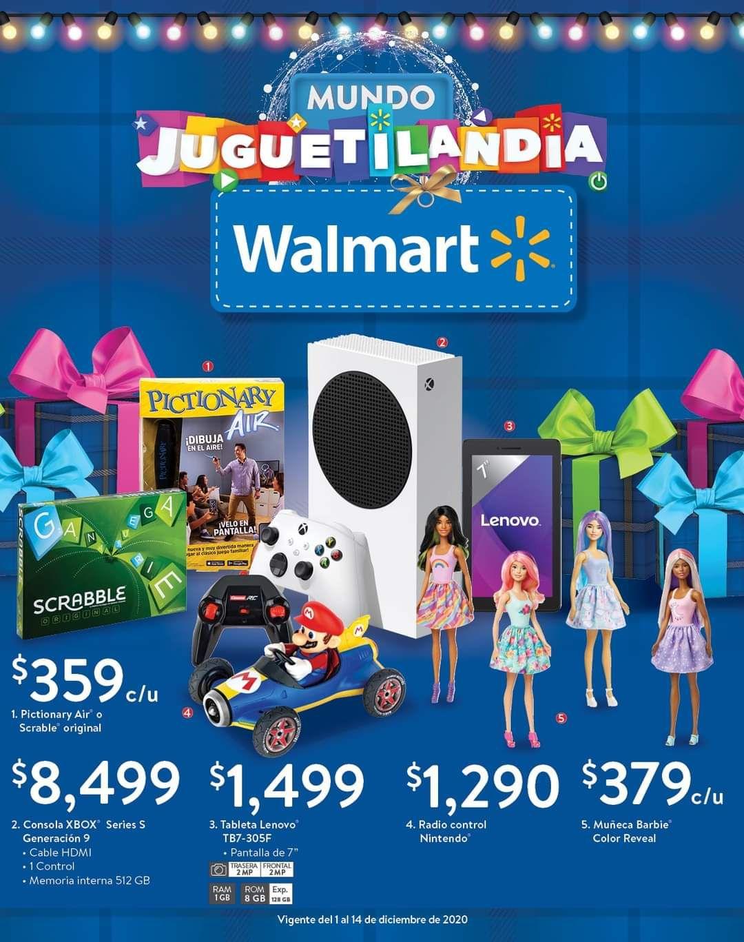 Walmart: Folleto de Ofertas Quincenal del Martes 1 al Lunes 14 de Diciembre