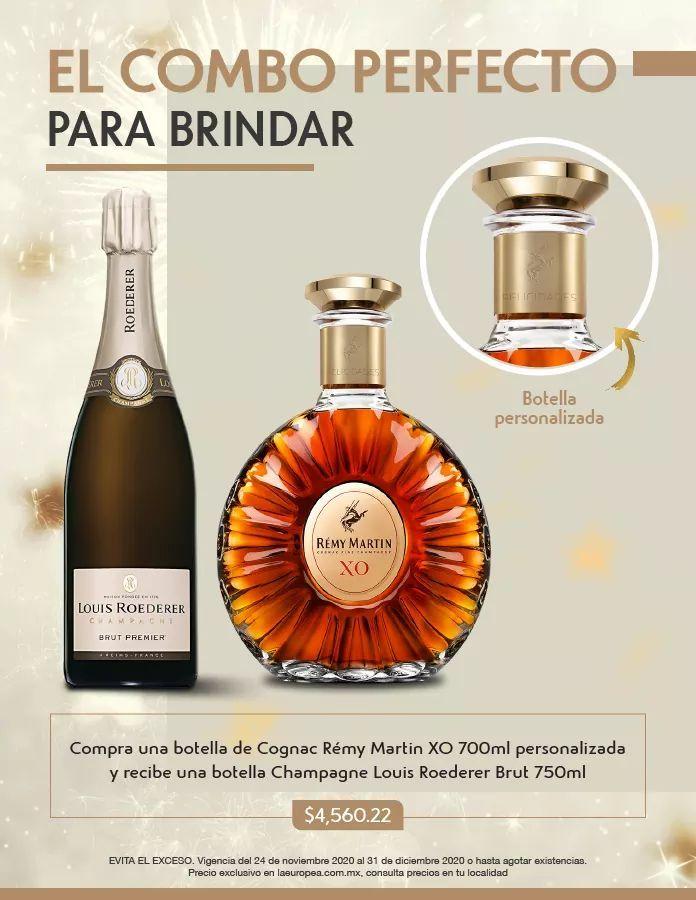 La europea: Champaña gratis en compra de cognac
