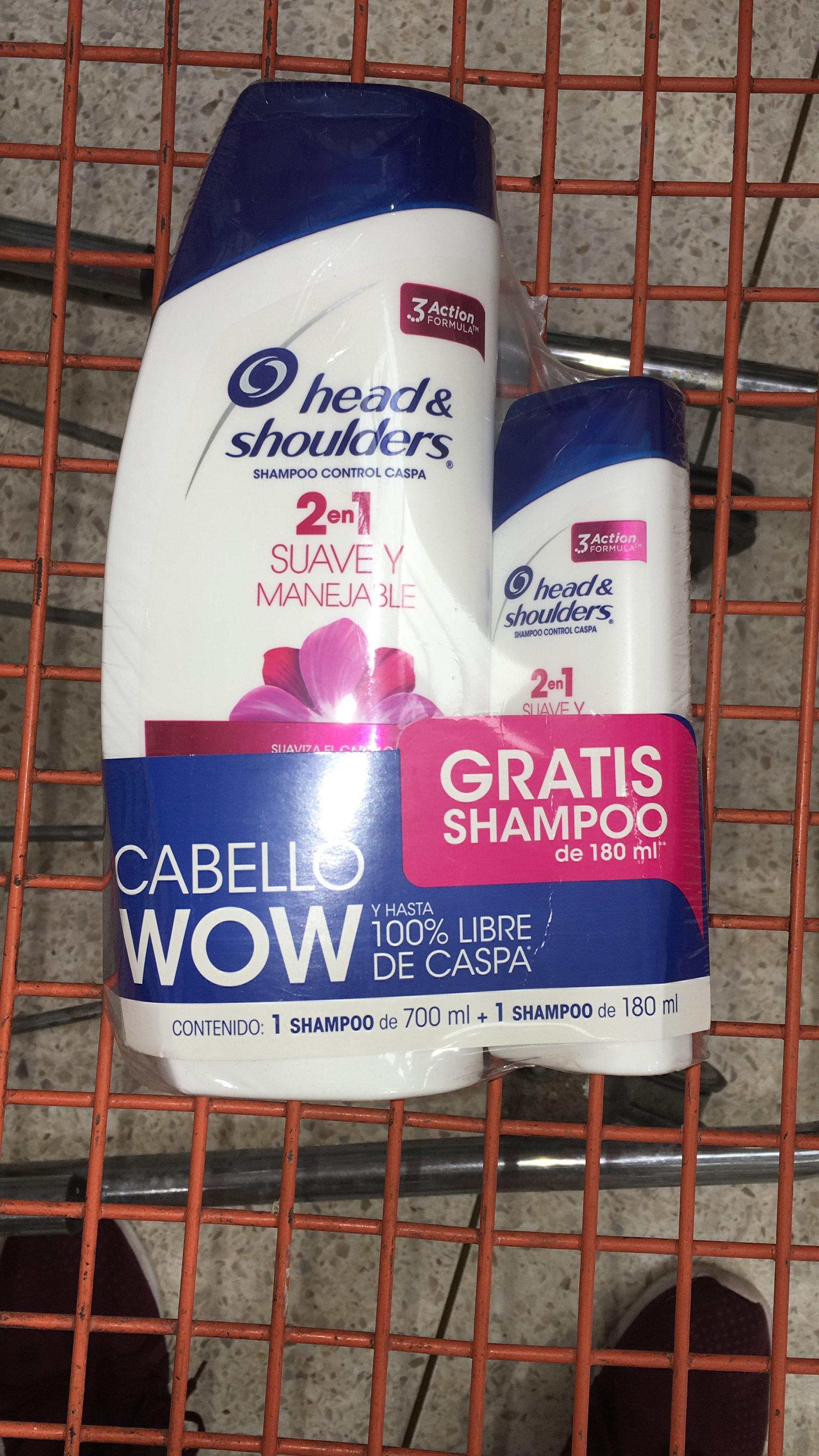 Chedraui: Shampoo Head and Shoulders