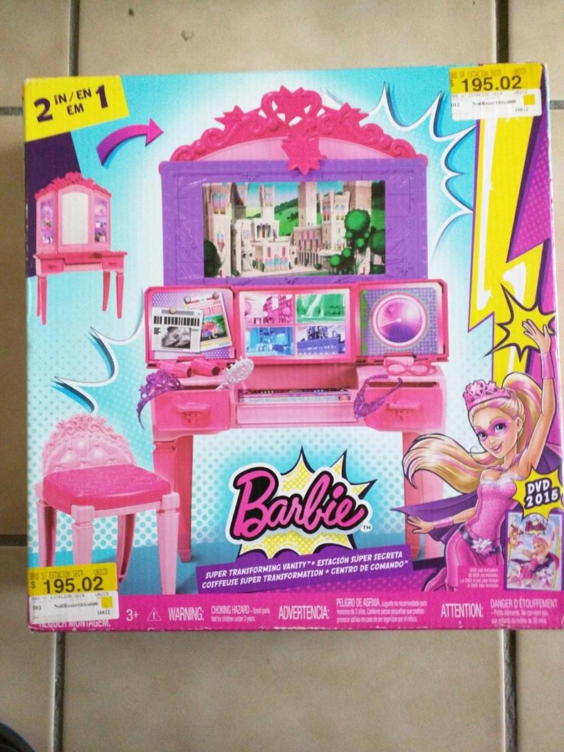Walmart Ixtapaluca: Barbie Estación Súper Secreta 2 en 1 de $470 a $45.01