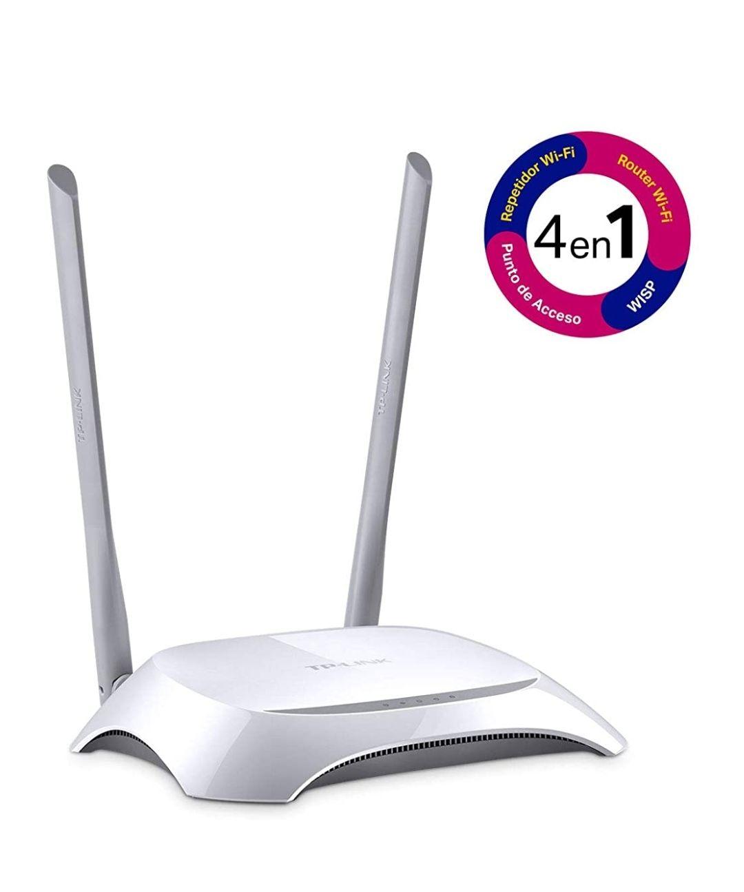 Amazon México: TP-Link WiFi Router TL-WR840N con Multimodo, Router/Repetidor/WISP/Punto de Acceso