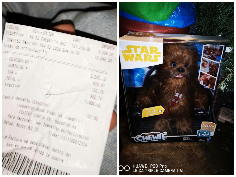 Juguetron: Chewbacca furReal