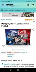 Amazon: Monopoly hause divided y Monopoly speed ( en ingles)