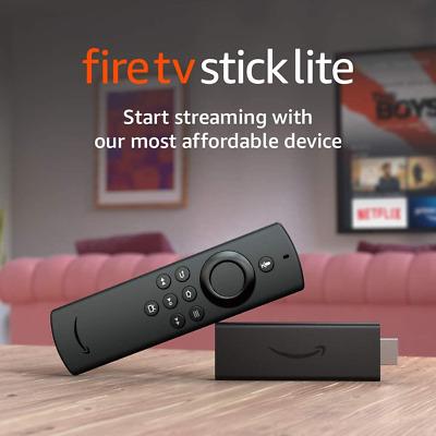 Ebay: Fire Tv Stick Lite (envío por Estafeta incluido)