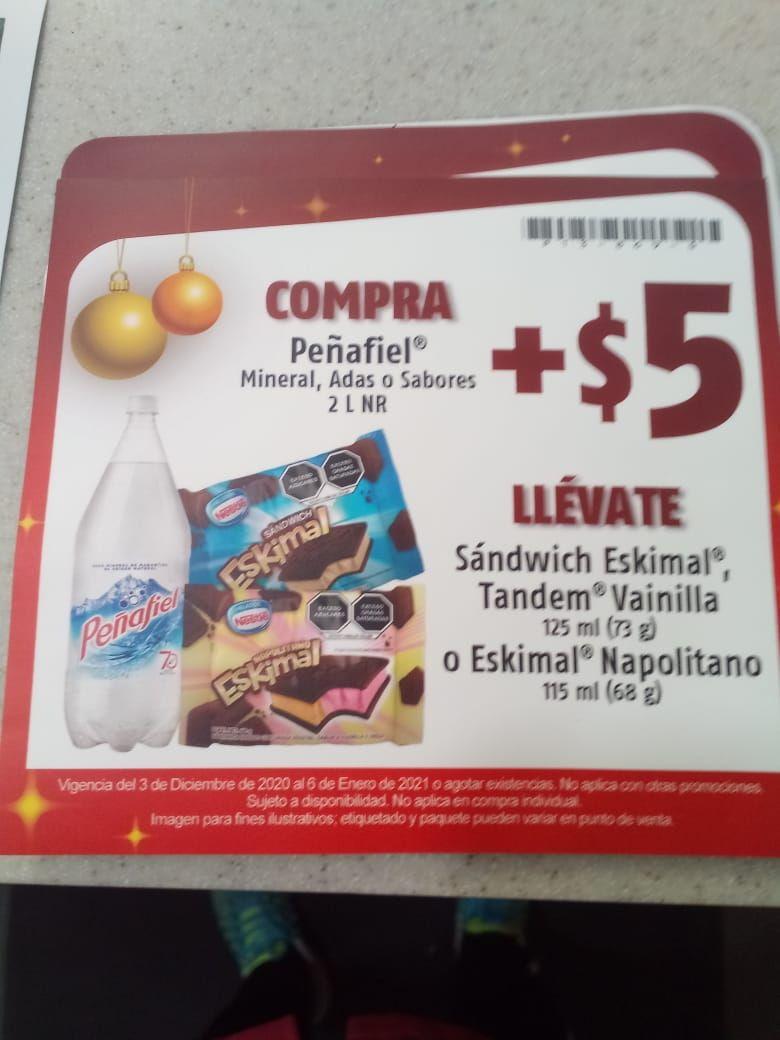 Oxxo: eskimal 5 pesos en la compra de peñafiel