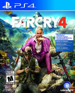 Amazon Mx: Far Cry 4 - PlayStation 4 - Standard Edition