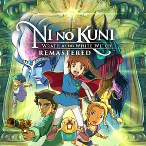 PS Store: Ni No Kuni: Wrath Of The White Witch Remastered [PS4]