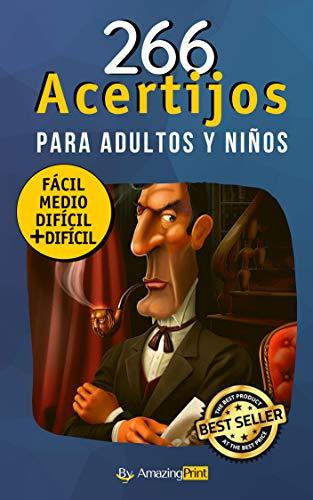 Amazon Kindle (gratis) 266 ACERTIJOS-ADIVINANZAS-ROMPECABEZAS, LOS VIAJES DE MARCO POLO y mas...