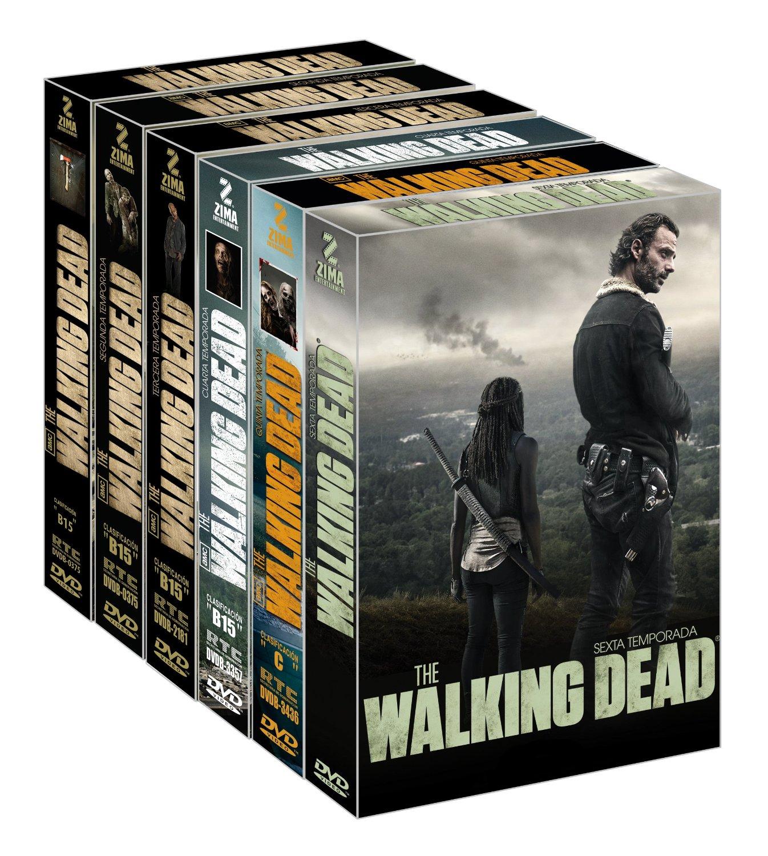 Amazon: The Walking Dead temporadas 1-6 en DVD rebajado de $1699 a $875
