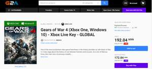 Gears of War 4 (Xbox One, Windows 10) | GLOBAL | G2A