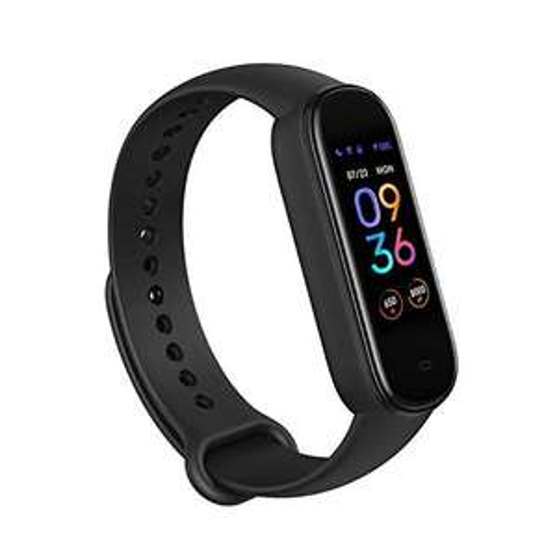 Amazon: Amazfit Band 5 Fitness Tracker con Alexa incorporado, Negro, Envío gratis con PRIME