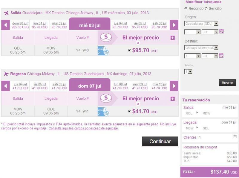 Volaris: vuelos nacionales desde $499 e internacionales a 99 dólares (oferta extendida)