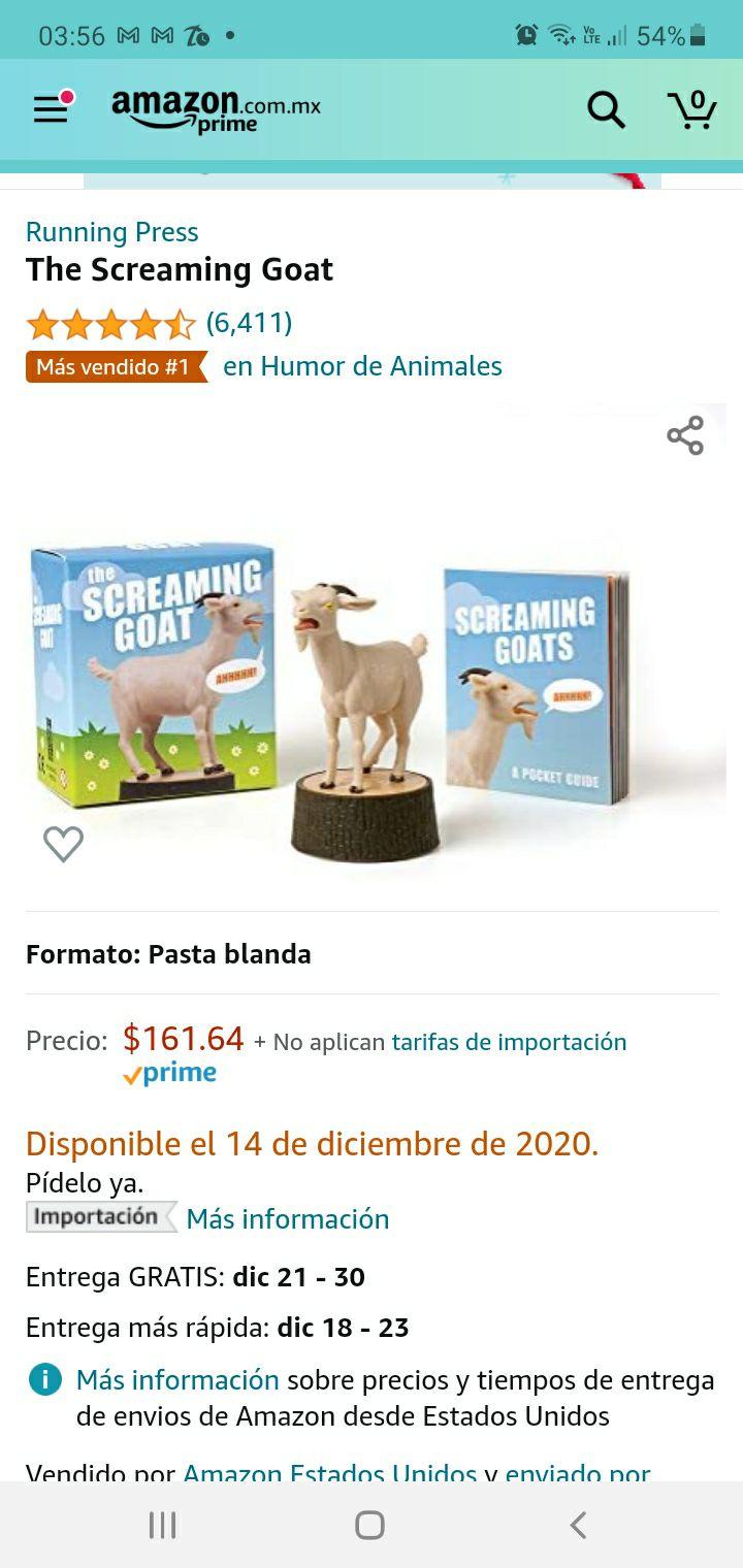 Amazon: Cabra Gritonaaa