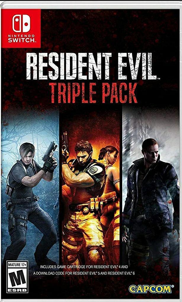 Amazon: Resident Evil Triple Pack Nintendo Switch