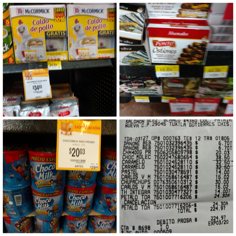 Walmart ote Tuxtla: ostiones ahumados $10.01 y más...