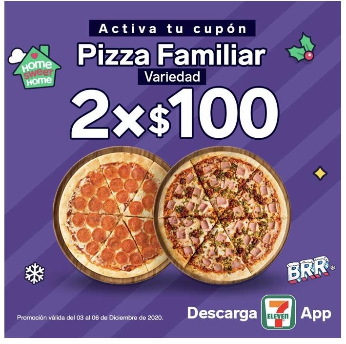7 ELEVEN: PIZZA 2x100