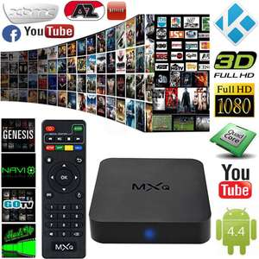 Amazon: Android TV BOX mxq