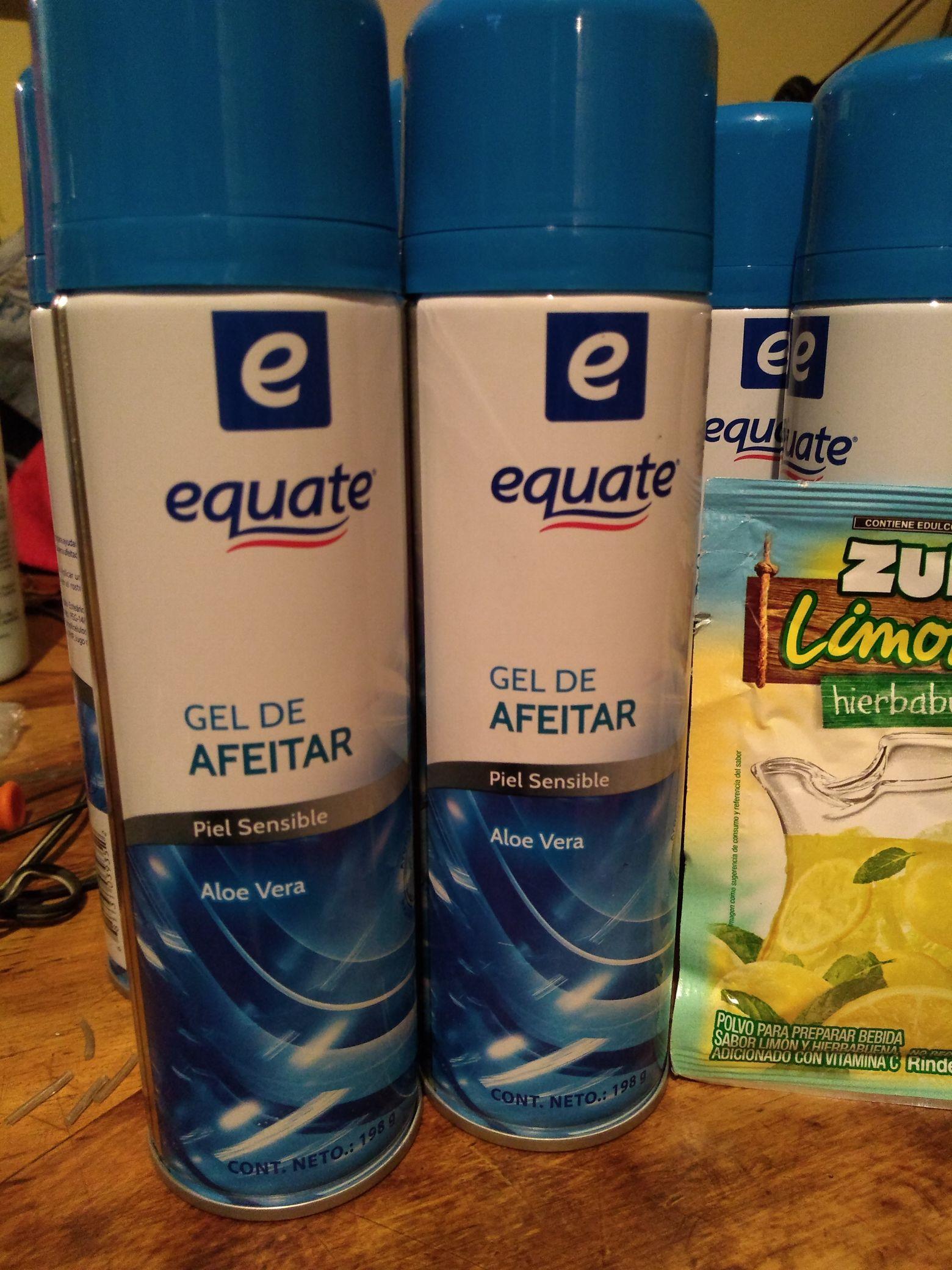Walmart: crema de afeitar y zukos
