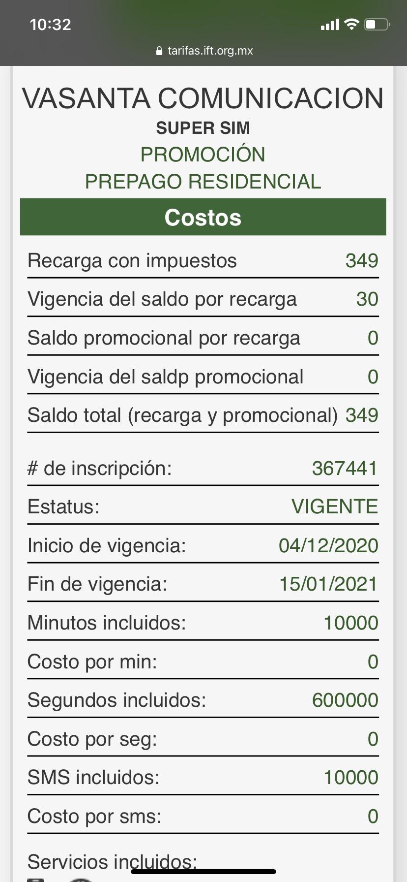Vasanta: 50gb para navegar más 50gb de uso justo / usuarios nuevos x