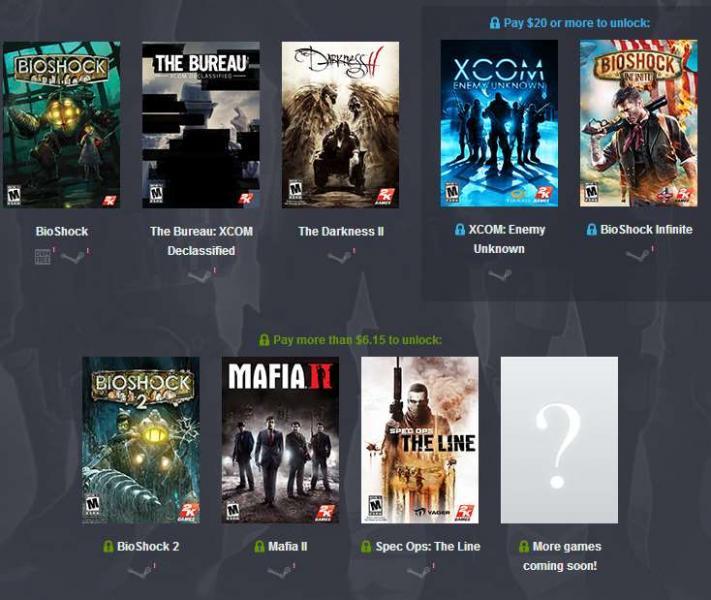Humble Bundle: BioShock, The Bureau y The Darkness II por 1 dólar y más