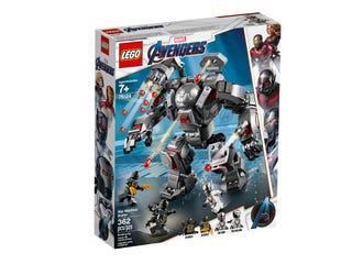 Walmart: Set LEGO Marvel Avengers Máquina Guerra 76124