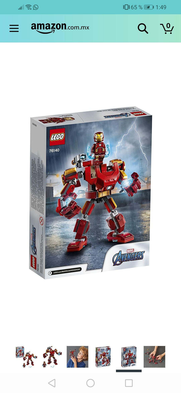 Amazon: Lego Armadura de Iron Man