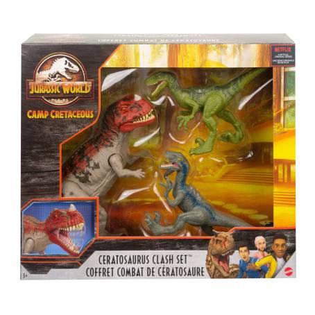 Sam's Club: Paquete de Animación Jurassic World Campamento Cretáceo con 3 pzas