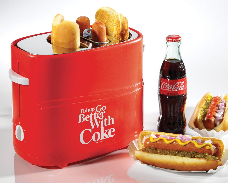 Amazon: Tostador de Hot Dogs Nostalgia Electrics Coca Cola