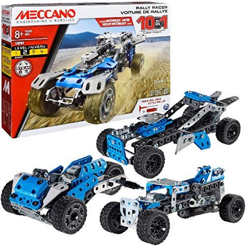 Amazon: MECCANO Vehículos Motorizados, Set 10 Modelos