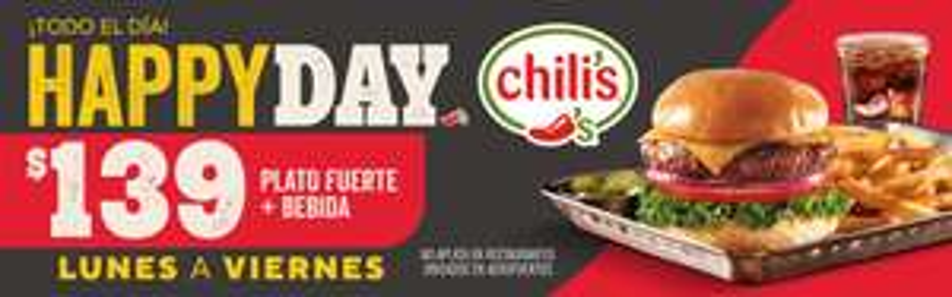 Chili's: boneless 2x1