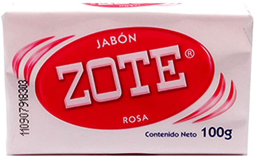 Amazon: Zote Jab Barra Rosa 100 Gr rosa, Pack of 1