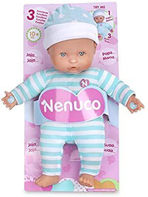 Amazon: Nenuco Baby 3 Funciones Mameluco, color Azul