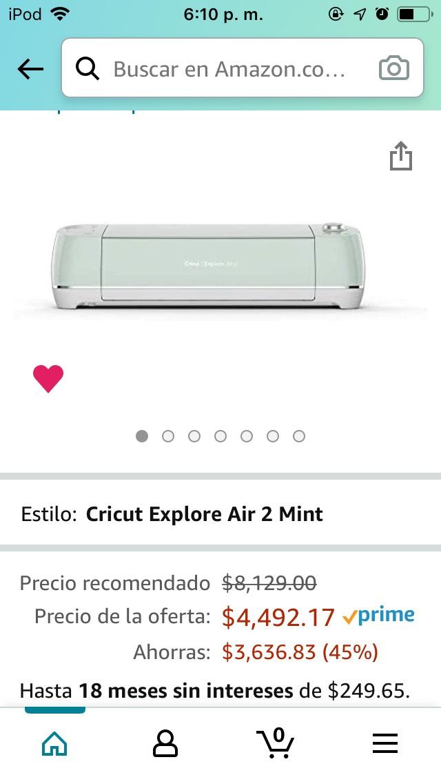 Amazon: Cricut Air 2