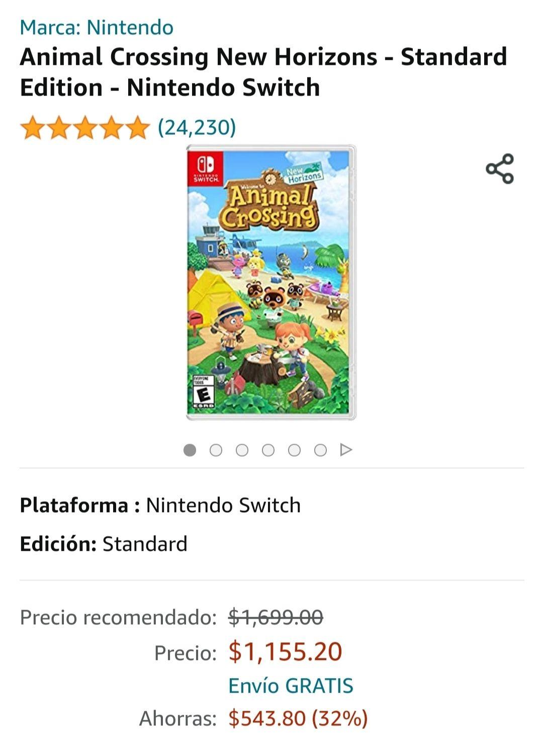 Amazon: Animal Crossing
