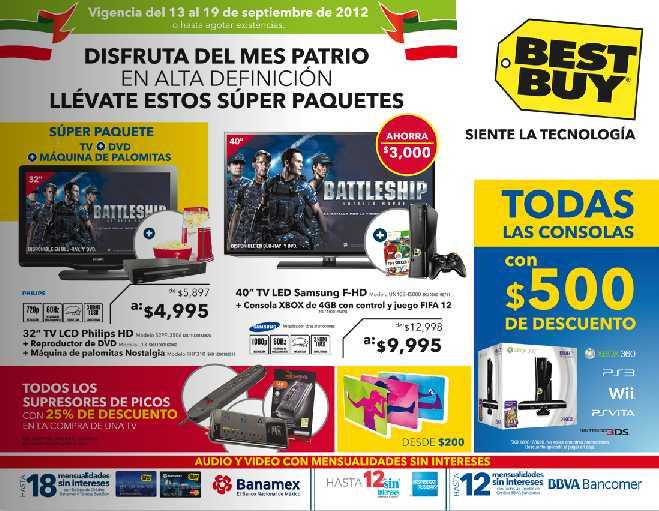 Best Buy: $500 de descuento en todas las consolas, 20% de descuento en GPS y más