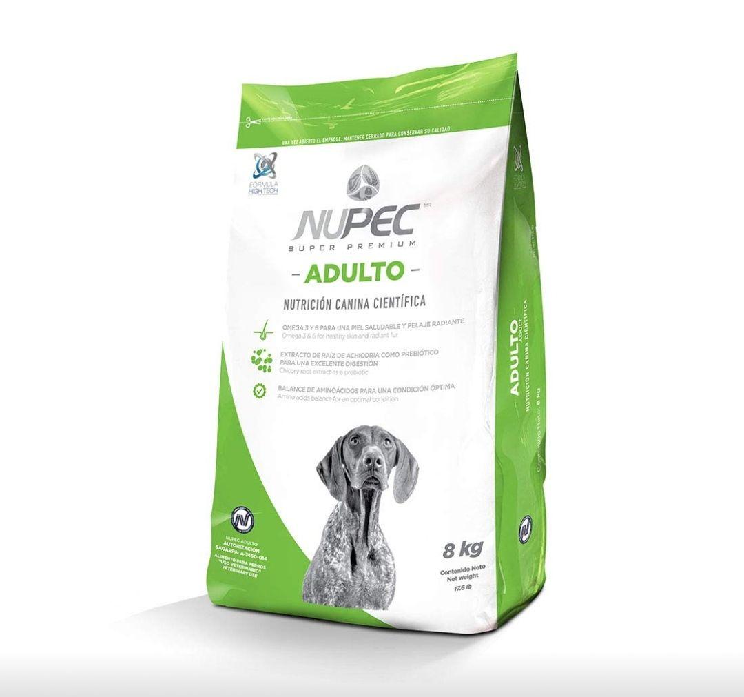 Amazon: Nupec - Croquetas para Perros, Adulto, Sabor a Carne, 8 kg (Empaque puede variar)