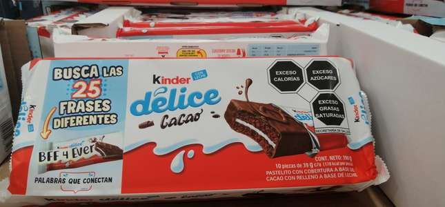 COSTCO: KINDER DELICE