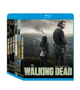 Amazon MX: BoxSet en Blu-ray de The Walking Dead temporadas 1-6