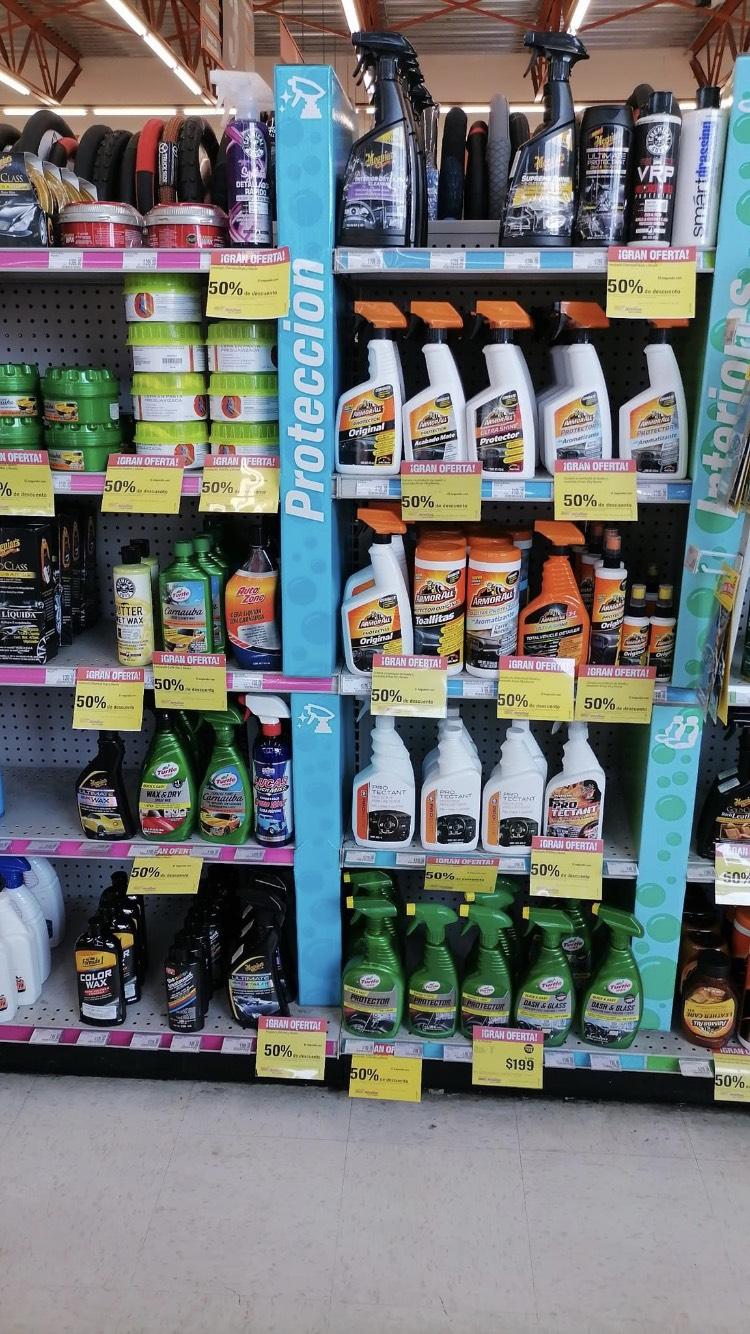 AutoZone, 50 % de descuento en el segundo artículos de limpieza