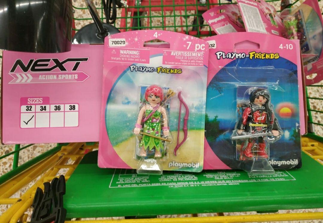 Bodega Aurrerá muñecos Playmobil en oferta