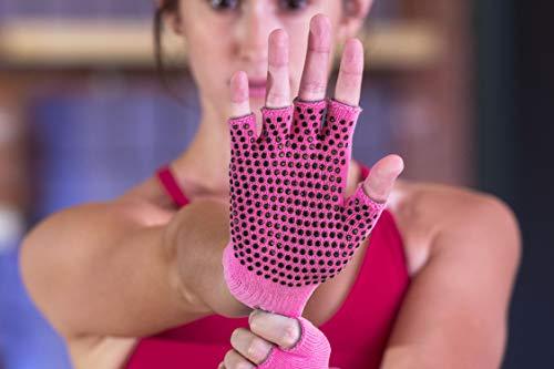 Amazon: Guantes deportivos mujer