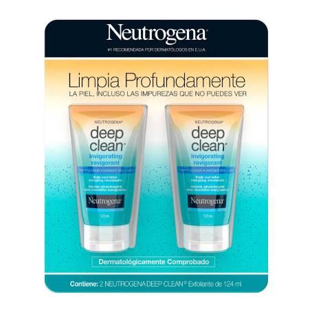 Sam's Club: Neutrogena deep clean 2 piezas 124ml c/u