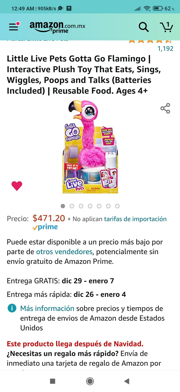 Amazon: Flamingo kk's hablador