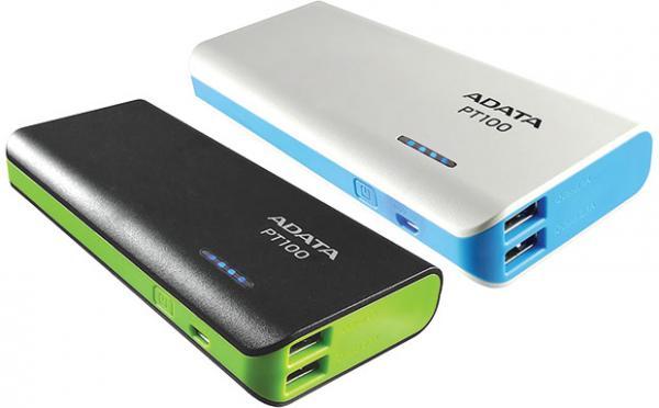 Linio: Bateria Portatil ADATA APT100 10000MAH $249 con cupón CAC-100AFFI $149