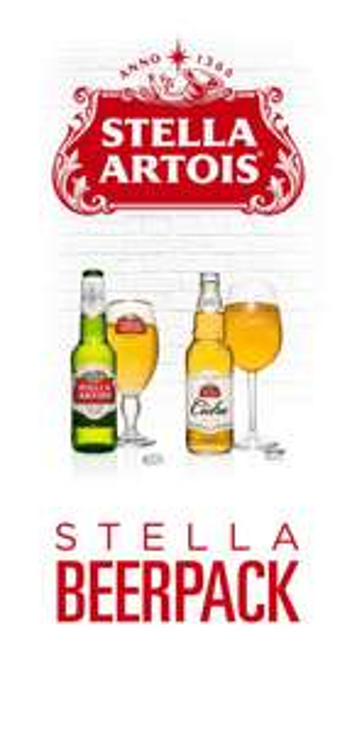 BeerHouse: Stella Artois Beerpack (12 piezas) a $399, Selección Especial de Modelo (24 piezas) a $610  y envío gratis