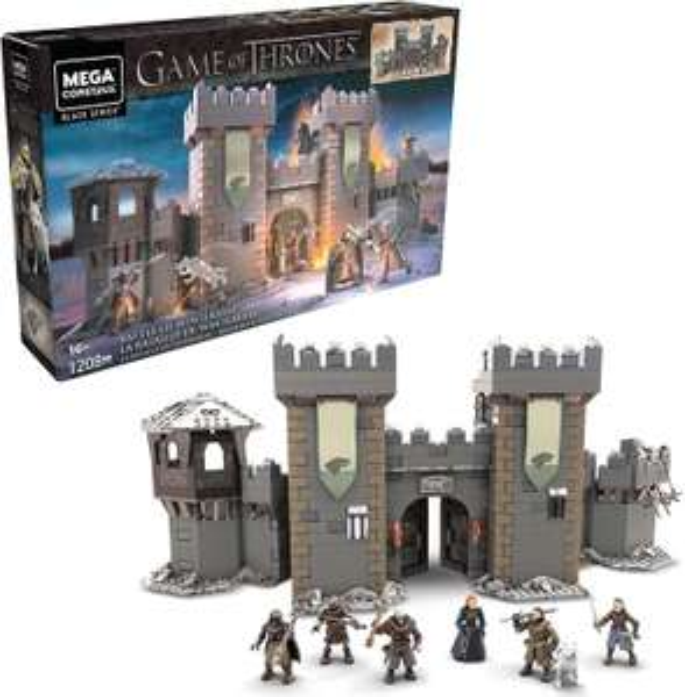 Walmart y Bodega Aurrerá: Set Mega Construx Black Series Batalla de Winterfell