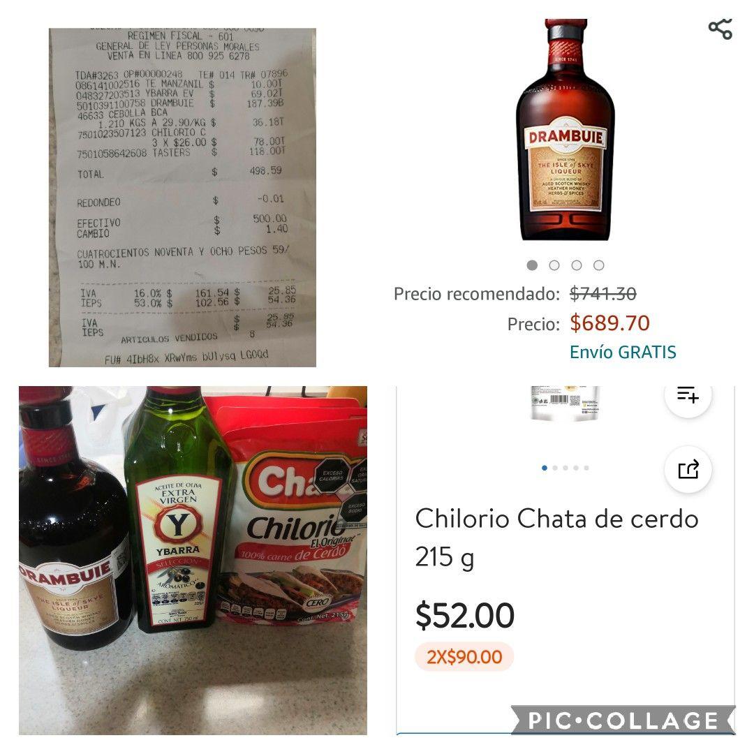Aceite de olivo Ybarra extra virgen de 750 ml. Y otros productos en Walmart