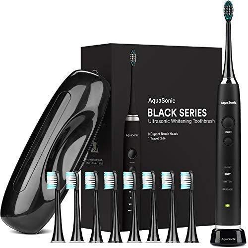 Amazon: Aqua Sonic SoniClean Black Series con 8 repuestos