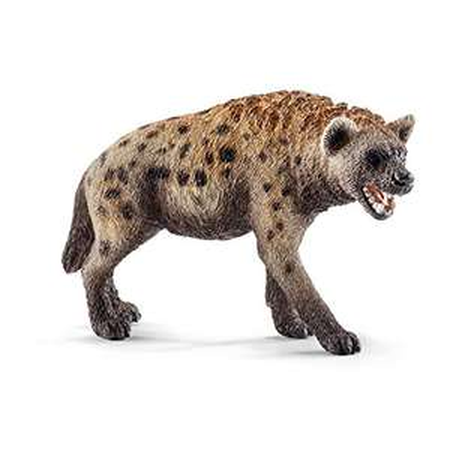 Amazon: Schleich Jugete Hiena, Color Beige/Negras
